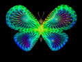 Butterfly design unreal series abstract element on the subject of imagination nature and Royalty Free Stock Image