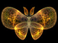 Butterfly design unreal series abstract element on the subject of imagination nature and Stock Photos
