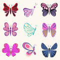 Butterfly designs Stock Photos