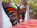 Butterfly gate Royalty Free Stock Photo