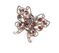 Butterfly hair clip. Royalty Free Stock Photo