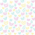 Butterfly pattern Stock Photos