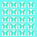 Butterfly pattern illustration Stock Photo