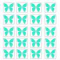 Butterfly pattern illustration Royalty Free Stock Image