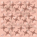 Butterfly pattern seamless vector with butterflies Royalty Free Stock Photography