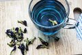 Butterfly Pea Tea Stock Photography