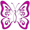 Butterfly, pictogram Royalty Free Stock Image