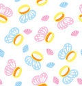 Butterfly Ring Pattern Royalty Free Stock Photography