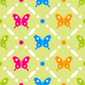 Butterfly stitches Stock Photography