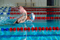 Butterfly stroke Stock Photos