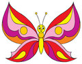 Butterfly (vector clip-art) Stock Photography