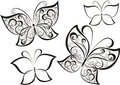 Butterfly. Vector illustration  Royalty Free Stock Image