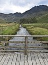 Buttermere lake district cumbria mountain view Stock Images