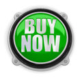 Button Buy Now (clipping path included) Royalty Free Stock Photo
