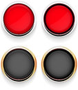 Button chrome Royalty Free Stock Photo