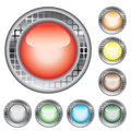 Button from colors. Vector. Royalty Free Stock Photo