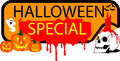 Button halloween Special Royalty Free Stock Photo