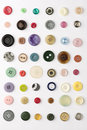 Buttons Stock Photography
