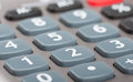 Buttons of calculator Royalty Free Stock Photo