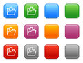 Buttons download folder icon Stock Photos