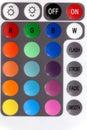 Buttons färgrikt Royaltyfri Bild