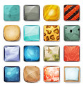 Buttons And Icons Set For Mobile App And Game Ui Royalty Free Stock Photo