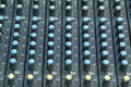 Buttons line sound equipment Royalty Free Stock Photography