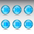 Buttons for media player Royalty Free Stock Photo