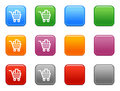 Buttons shopping cart icon 2 Royalty Free Stock Photo