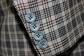 Buttons in a Suit Royalty Free Stock Photo