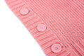 Buttons on sweater pink Stock Images
