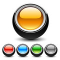 Buttons for Web Applications. Stock Image