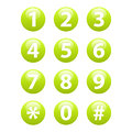 Buttons for web Phone icon sign web Royalty Free Stock Photo