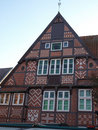 Buxtehude -an old house. Royalty Free Stock Photos