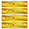 Buy now, play now, join now,bet now Royalty Free Stock Photos