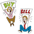 Buy Sell Investors Stock Photos