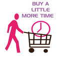 Buy some time sign Royalty Free Stock Images