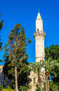 Buyuk or Kebir Mosque in Larnaca Royalty Free Stock Photo
