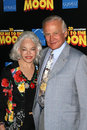 Buzz aldrin buzz aldrin and wife lois at the los angeles premiere of fly me to the moon dga hollywood ca Stock Photos