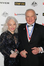 Buzz aldrin and wife lois at the g day usa australia week black tie gala hollywood palladium hollywood ca Stock Image