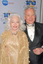 Buzz aldrin and wife lois at the night of stars oscar viewing party beverly hills hotel beverly hills ca Stock Image