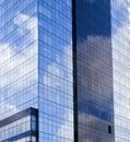Byggande futuristic kontor Royaltyfri Bild