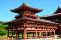 Byodo-in Buddhist temple, Uji, Japan Royalty Free Stock Photo