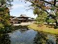 Byodo in temple japan uji near kyoto Stock Photography