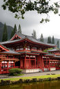 Byodo-In Temple, O'aho, Hawaii Stock Photography