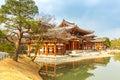 Byodo in temple uji kyoto at town japan Stock Photos