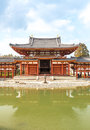 Byodo in temple uji kyoto at town japan Stock Photography