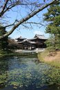 Byodoin Phoenix hall temple, Uji, Kyoto Japan Stock Photography