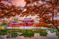 Byodoin Temple in Kyoto Royalty Free Stock Photo