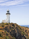 Byron bay lighthouse in austarlia Stock Image